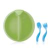 25101-Plato Térmico con Sopapa + Cubiertos