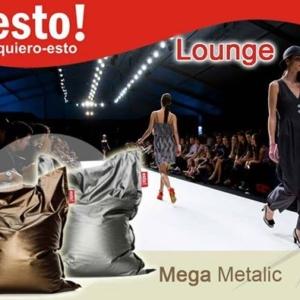 PUFF DISEÑO METALIC