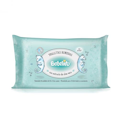 55111-Toallitas húmedas con extracto de aloe vera premium