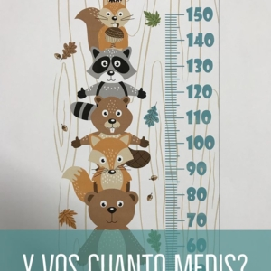 GABARDINA MEDIDOR ANIMALITOS
