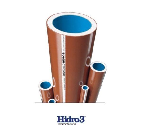 Caño Polipropileno Azul Ø ½ X 6 M Hidro 3