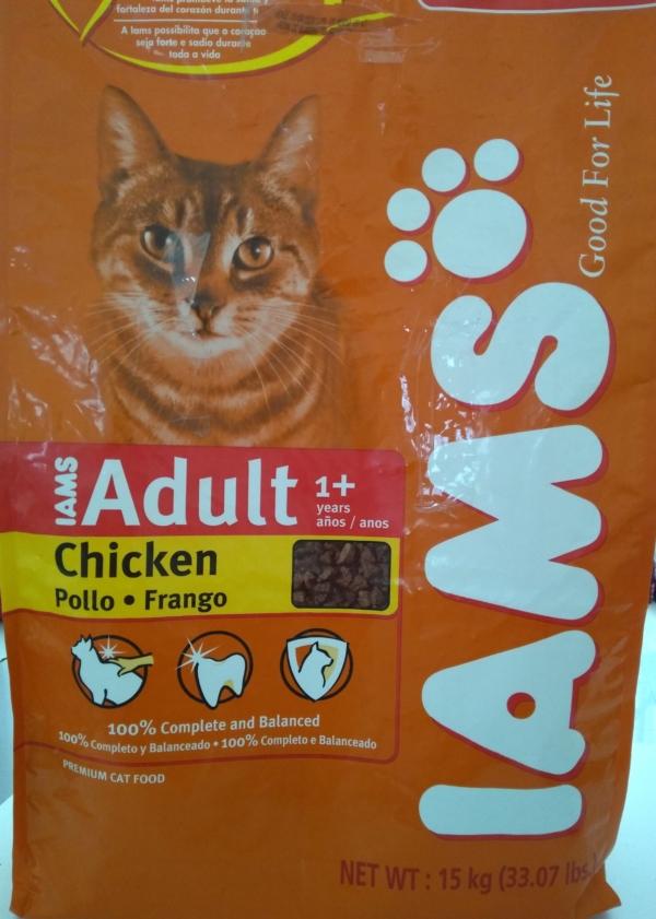 Alimento para gato adulto Iams x 5 kg