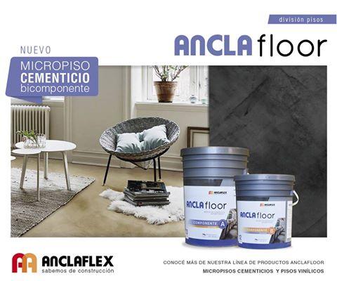 MICROPISO CEMENTICIO ANCLAFLOOR x 7kg formula PA