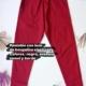 Pantalón en Bengalina con laso