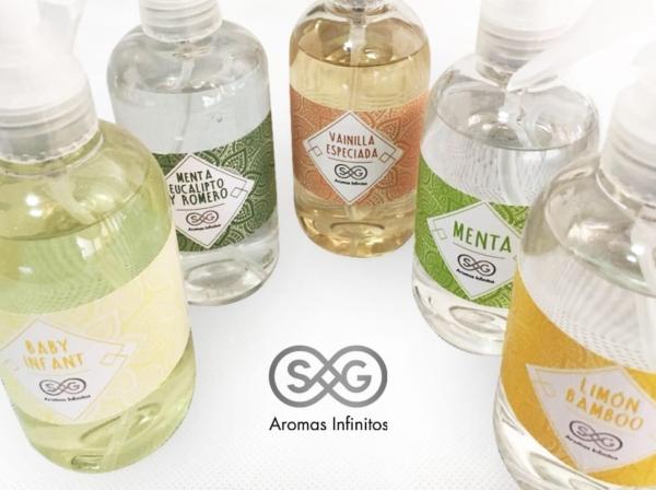 Perfuminas textiles 250ml Línea Relax