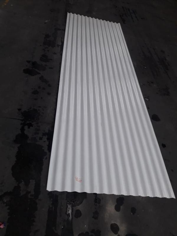 Chapa de Fibra Blanca 6 metros de largo