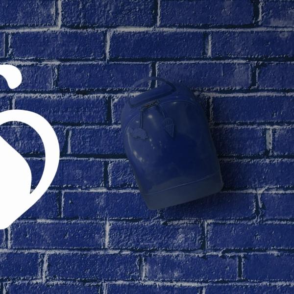 Mochila para lluvia - Azul