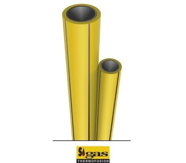 Sigas Caño Tubo 20 Mm x 4mts Termofusion Gas
