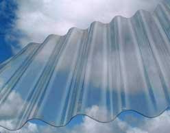 Chapas de Policarbonato Transparentes 3.50 metros de largo
